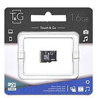 Карта памяти T&G 16GB class 10 (без адаптера) (UHS-1)