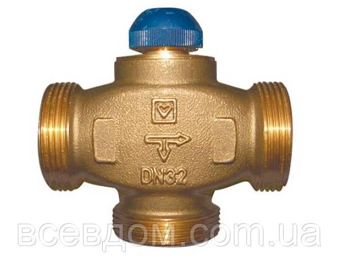 """Клапан термостатический трехходовой HERZ CALIS-TS-RD 1"""" (DN25-1 1/4""""РН)"""