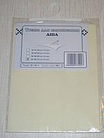 Канва (аида 18) для вышивания, экрю (32*45 см)