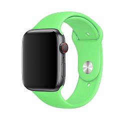 Ремінець Silicone Sport Band для Apple Watch Green