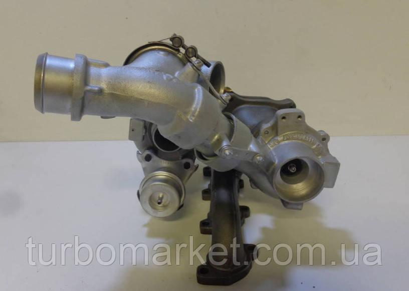 Турбина, турбокомпрессор   Mercedes Sprinter  Мерседес спринтер 2.2 CDI Bi-Turbo 54399700049 / 53049700057