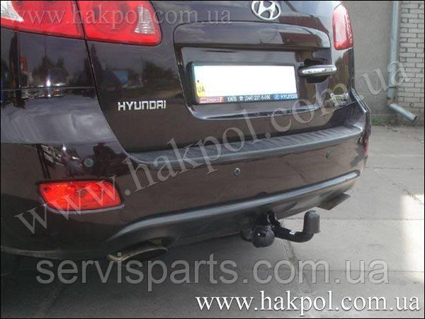 Фаркоп Hyundai Santa Fe  2006 - 2012 г. (Санта Фе)