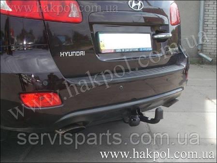 Фаркоп Hyundai Santa Fe  2006 - 2012 г. (Санта Фе), фото 2
