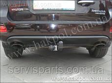 Фаркоп Hyundai Santa Fe  2006 - 2012 г. (Санта Фе), фото 3