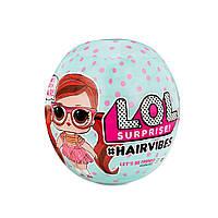 """Игровой набор с куклой L.O.L SURPRISE! S6 W1 серии """"Hairvibes"""" - МОДНЫЕ ПРИЧЕСКИ (в ассорт.,в диспл), фото 1"""