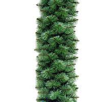 Новогодняя сосновая гирлянда Крымскаяская Зелёная Микс 300 см