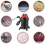 Пылесос DMS® 4in1 1800Вт промышленный, многоцелевой, контейнер 30л, без мешка, фото 3