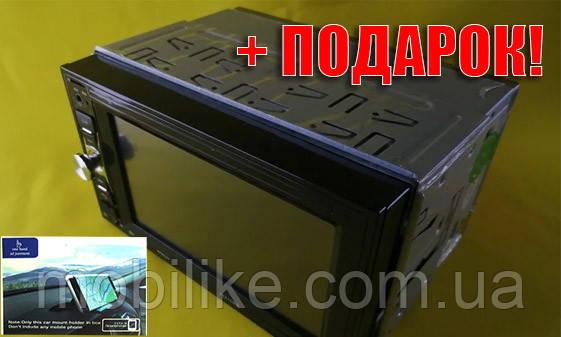 АКЦІЯ! +Автомобільна магнітола з екраном Pioneer 7621 USB SD Bluetooth