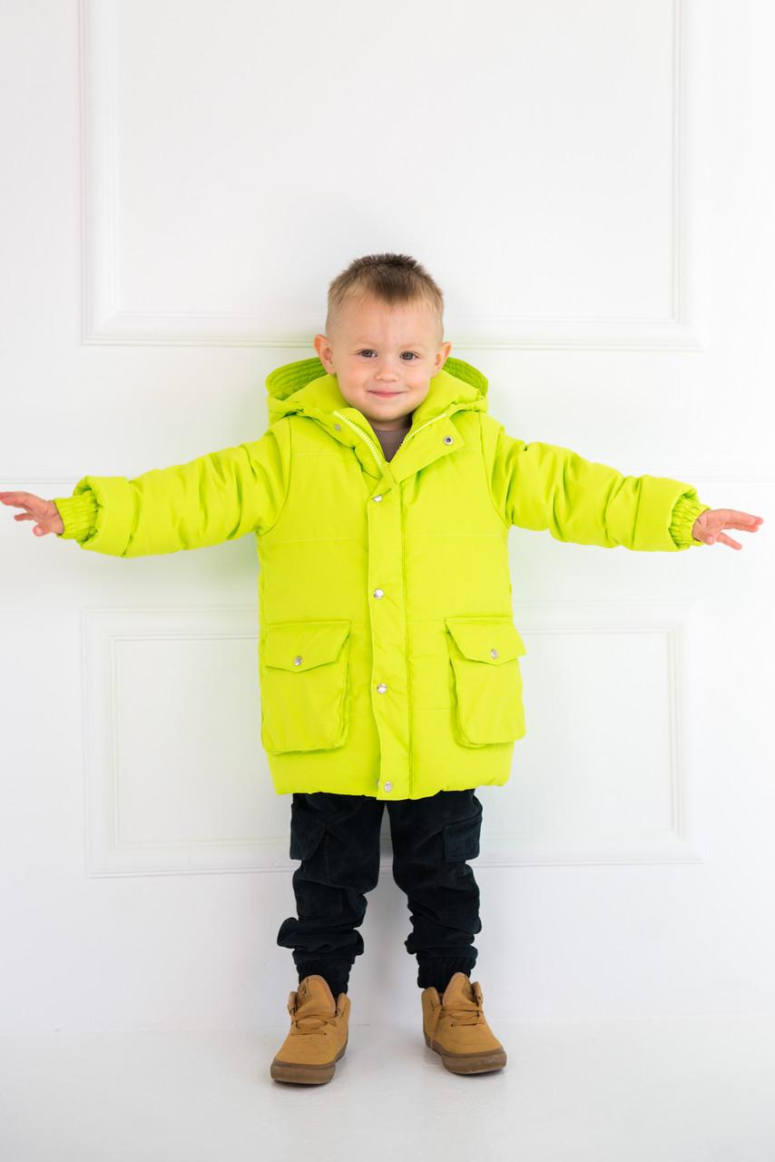 Зимняя куртка Amy Салатовая