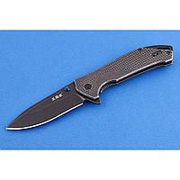 Ніж складаний фліппер San Ren Mu knives 9015 SB