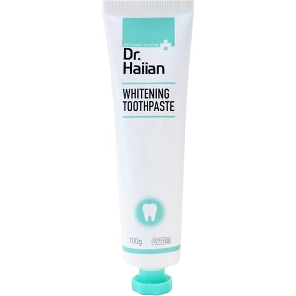 Паста зубная для активного отбеливания с полирующими частичками May Island Dr.Haiian Whitening Toothpaste,100g