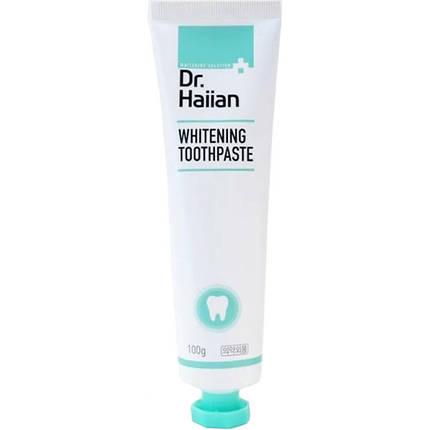 Паста зубная для активного отбеливания с полирующими частичками May Island Dr.Haiian Whitening Toothpaste,100g, фото 2
