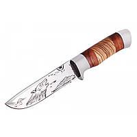 Нож охотничий в чехле 1865, фото 1