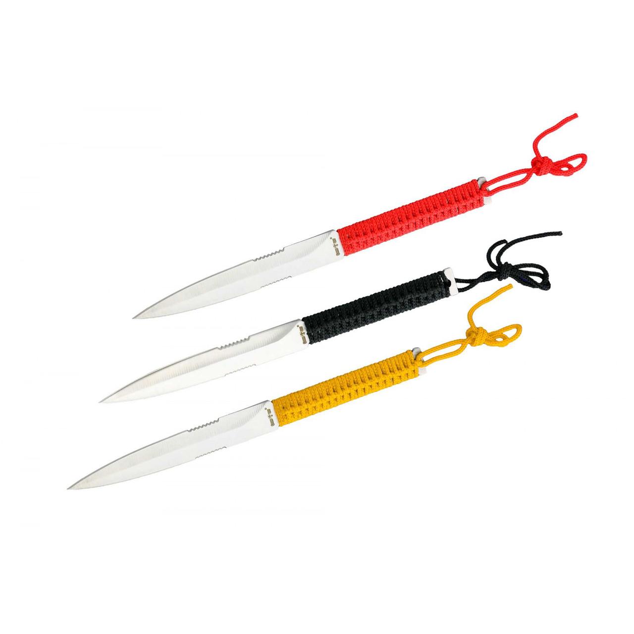 Ножи метательные в наборе YF013 (3в1)