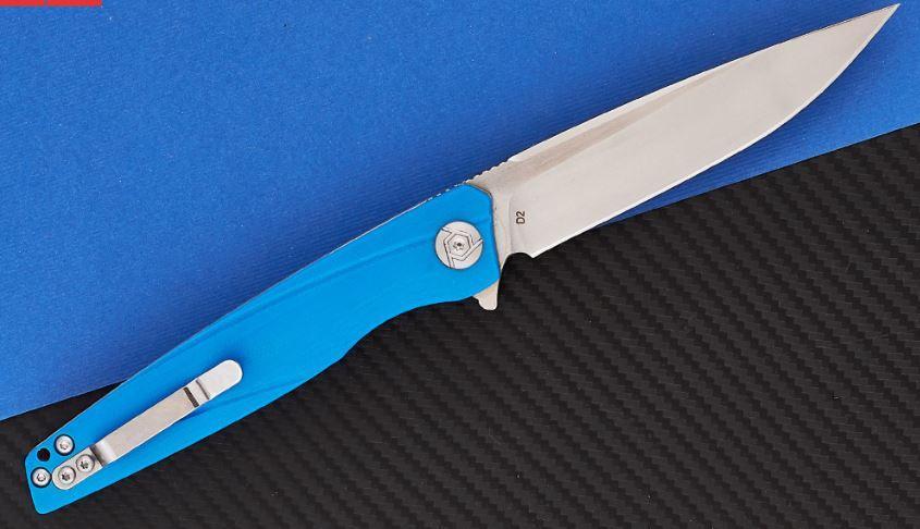 Нож складной CH 3007-G10-BLUE
