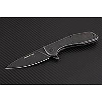 Нож складной  E571 black stonewashed-7132, фото 1