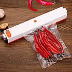 Рельєфні пакети для вакуумного пакувальника, вакууматора, 16 х 24 див., 10шт., фото 7