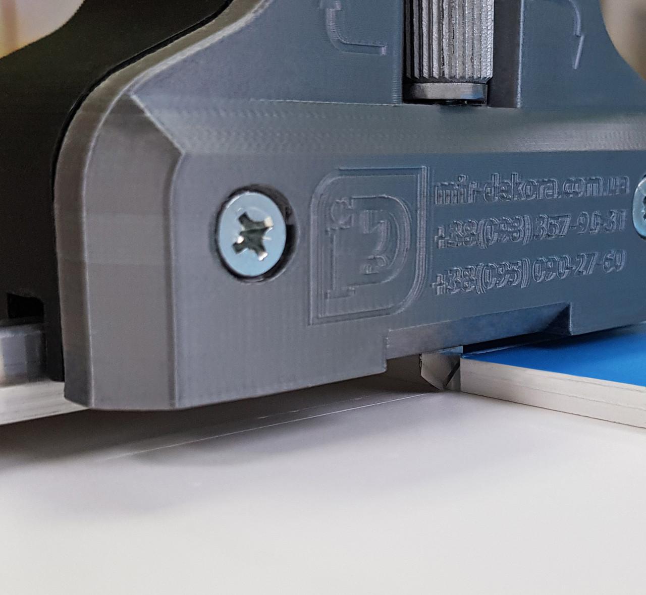 Резак роликовый для ПВХ и акрила с рельсой, до 6 метров рез