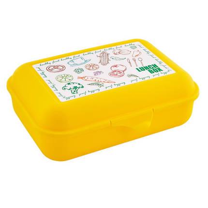 Бутербродница, темно - желтая, 167400/4, фото 2