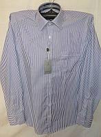 Белая сорочка AYGEN (Турция) в синюю полоску, фото 1