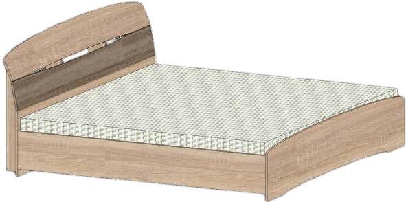 Кровать Марго-1400 Сучасні Меблі