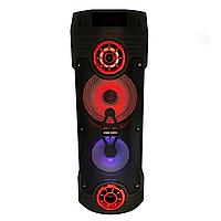 Портативная колонка ZQS-6202 с микрофоном и пультом ДУ, фото 1
