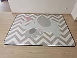 """Безкоштовна доставка! Килим в дитячу """"Мама слоник і малюк"""" утеплений килимок мат (1.5*2 м), фото 9"""