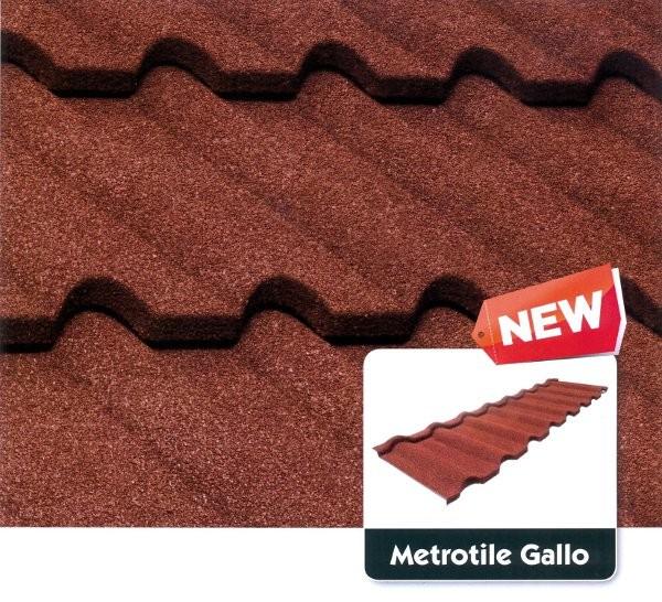 Композитная металлочерепица Metrotile Gallo (Галло)