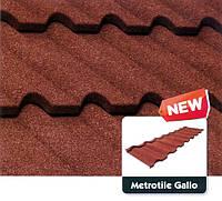 Композитная металлочерепица Metrotile Gallo (Галло), фото 1
