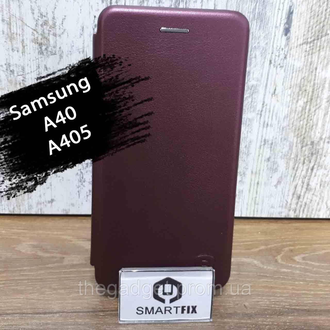 Чехол книжка для Samsung A40 G-Case