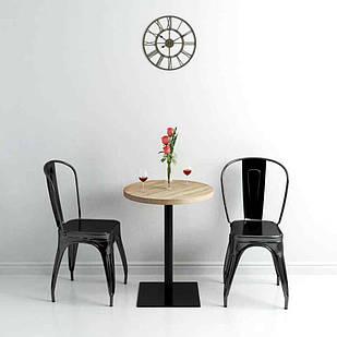 Деревянный круглый стол для кафе и ресторана