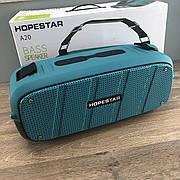 Hopestar A20 BASS портативная Bluetooth Колонка Speaker беспроводная водонепроницаемая блютуз акустика бирюза