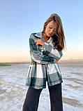 Рубашка женская Клетка 42-46 рр., фото 10