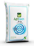 Удобрение водорастворимое  Agritech Drip 14-13-30+МE - 25кг