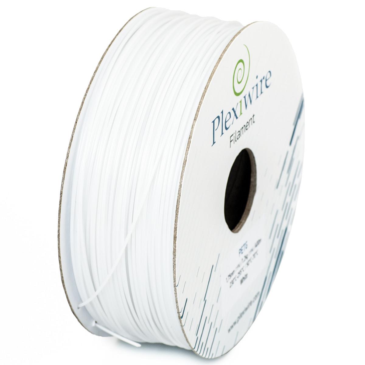 PETG пластик для 3D принтера 1,75мм (300м /0,9кг) белый