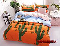 """Комплект постельного белья для двуспальной кровати из бязи """"Gold"""" №151399АВ"""