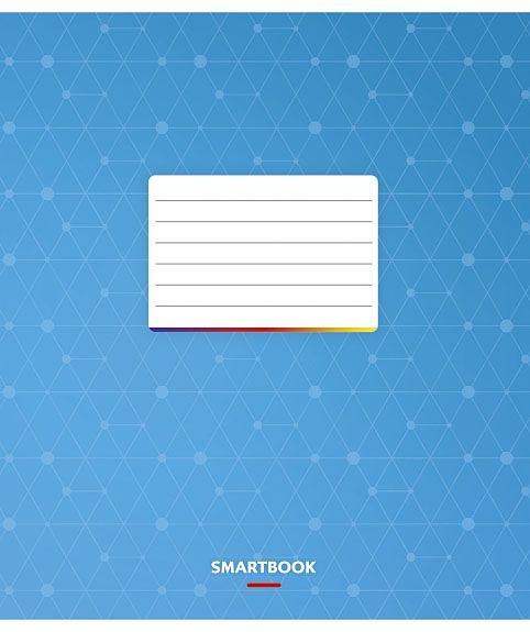 """Тетрадь 24 л. клетка Star """"Smartbook"""" 2579/51283"""