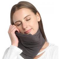 Дорожная подушка-шарф для путешествий Travel Pillow