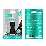 Флешка HOCO USB Intelligent U disk UD6 64GB, черная, фото 3