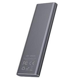 Зовнішній накопичувач SSD Type-C HOCO UD7 256GB, сірий