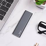 Внешний накопитель SSD Type-C HOCO UD7 512GB, серый, фото 5