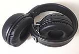 Наушники беспроводные Bluetooth N65BT, черные, фото 5