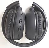 Навушники безпровідні Bluetooth N65BT, чорні, фото 6