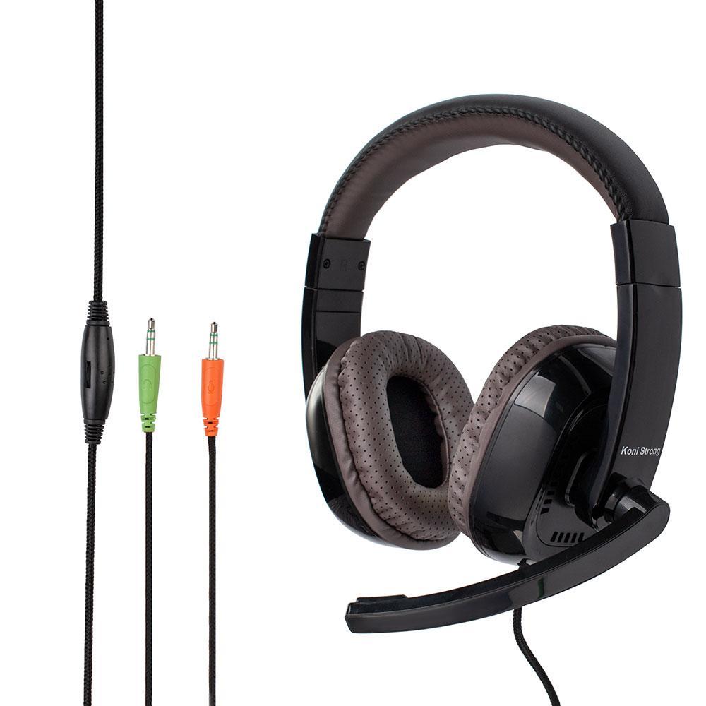 Навушники ігрові KONI Strong Gaming KS-996, чорні