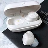 Навушники Bluetooth REMAX Stereo TWS-2S в кейсі, сріблясті, фото 4