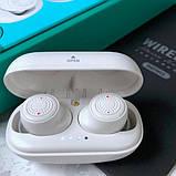 Навушники Bluetooth REMAX Stereo TWS-2S в кейсі, сріблясті, фото 5