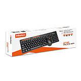 Беспроводная клавиатура и мышь Combo MEETION 2in1 Keyboard/Mouse Wireless 2.4G MT-4100, черный, фото 2