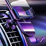 Держатель автомобильный USAMS Gravity Car Holder US-ZJ052, черный, фото 6