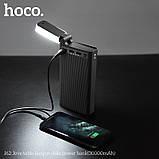 УМБ портативное зарядное Power Bank HOCO J62 30000 mAh, 3USB, Type-C, 2A, черное, фото 4