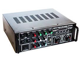 Підсилювач UKC PA-329BT 5721 з караоке